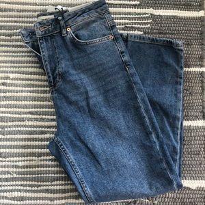 TopShop Straight Leg Moro Jeans